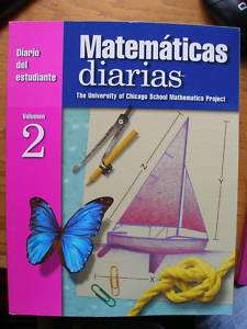 Diario del Estudiante /Everyday Math 4th Grade Volume 2