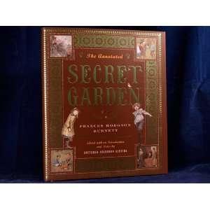 The Annotated SECRET GARDEN Frances Hodgson BURNETT Books