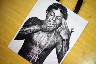 Lil Wayne Weezy Hip Hop R&B Rap Canvas Tote Bag