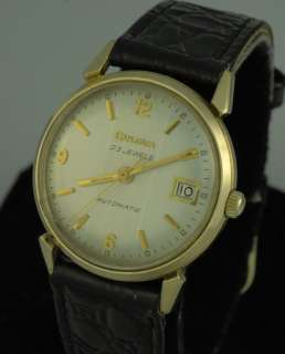 VINTAGE DECO BULOVA 23J AUTOMATIC MENS WRIST WATCH – MINT RACING