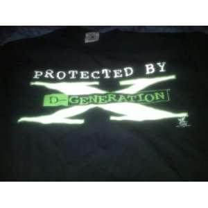 WWF WWE D Generation X, Youth Extra Large (XL) Black T Shirt HHH