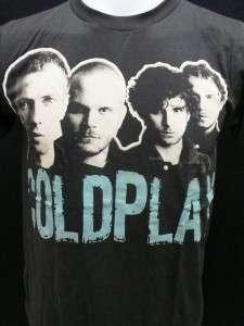 Coldplay music alternative rock band mens t shirt XL