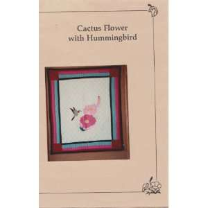 Cactus Flower With Hummingbird Applique Quilt Pattern: Everything Else