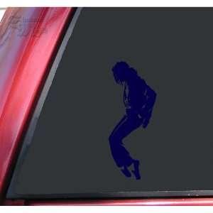 Michael Jackson Silhouette Vinyl Decal Sticker   Dark Blue