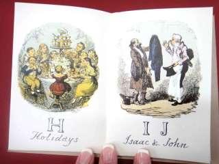 1835 COMIC ALPHABET BOOK british NEWER PRINT