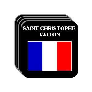 France   SAINT CHRISTOPHE VALLON Set of 4 Mini Mousepad