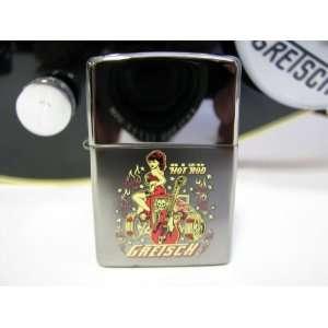 Gretsch Vince Ray Zippo Lighter Musical Instruments