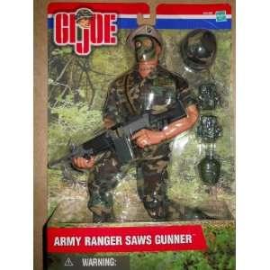 12 GI Joe Army Ranger Saws Gunner Toys & Games