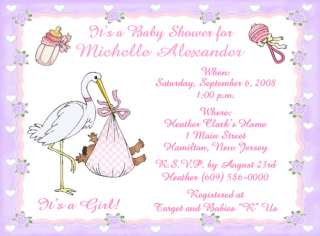 one piece flat invitations with envelopes african american baby