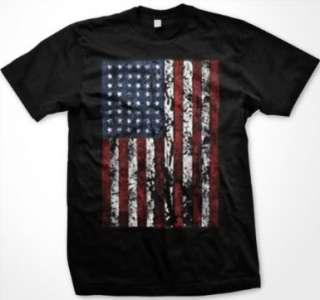 American Flag Mens United States USA Patriotic T Shirt