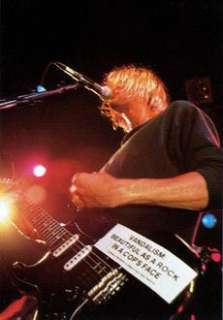 Kurt Cobain (Nirvana) Vandalism   decal guitar sticker (grunge rock