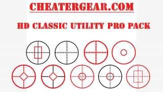 Variety 9 pack Screen Target Aim Assist CheaterGear
