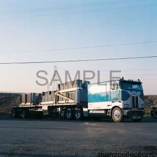 90s Peterbilt COE large sleeper 8 x 10 truck photo