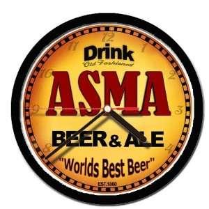 ASMA beer and ale wall clock