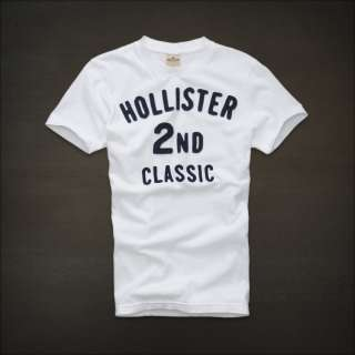 NWT HOLLISTER Abercrombie Mens Short Sleeve T Shirt Tee S, M, L, XL