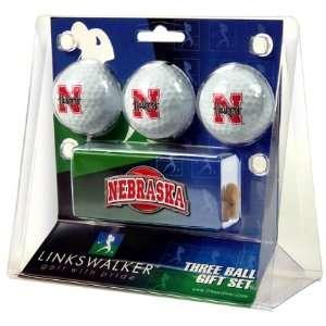 University of Nebraska Cornhuskers 3 Golf Ball Gift Pack w
