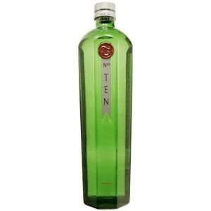 Tanqueray No. 10 Batch Distilled Gin 1 L: Grocery