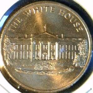 White House US MINT Commemorative Bronze Medal   Token   Coin