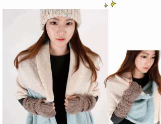 GLOVES ~Angora Wool Fluffy Anime Kpop Korean Fashion Cute Tshirt SNSD
