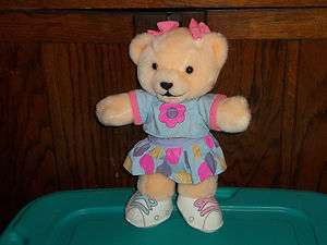 1995 TOMY BANANAS IN PAJAMAS GIRL TEDDY BEAR PLUSH DOLL