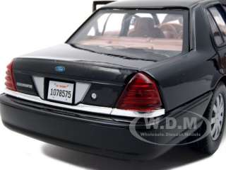 2007 FORD CROWN VICTORIA BLACK UNDERCOVER CAR 124