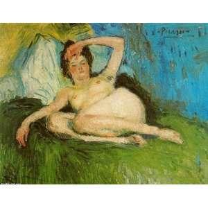 Pablo Picasso   24 x 18 inches   Jeanne (Desnudo ac Home & Kitchen