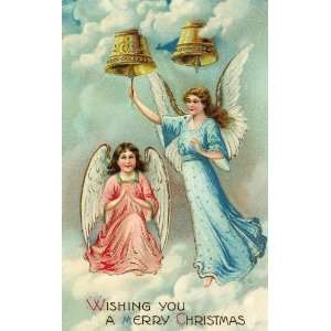 XMAS ANGEL 127 CROSS STITCH CHART: Home & Kitchen