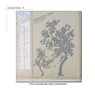 DIY Decorative Wall Art Sticker Decal   FRIENDSHIP TREE