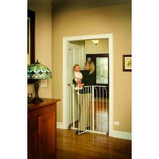 Regalo Easy Step Extra Tall Walk Thru Gate   White