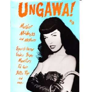 UNGAWA #2 [Bettie Page] Cathal, Ed Tohill Books