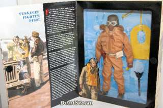12 GI JOE TUSKEGEE FIGHTER PILOT Action Figure doll
