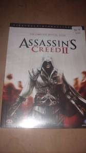ASSASSINS CREED II THE COMPLETE OFFICIAL GAME GUIDE #1