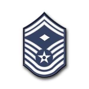 US Air Force Senior Master Sergeant Decal Sticker 3.8 6