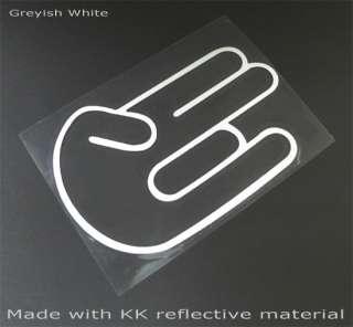 JDM Domo Kun Evil King + 5 Shocker Hand Logo Car Decal Vinyl