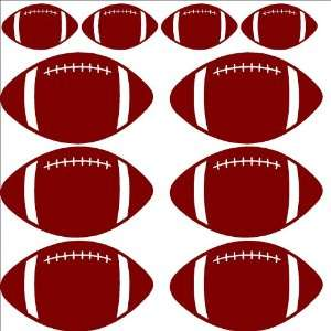 Football Wall Stickers/decals/words/quotes/lettering/car/ window