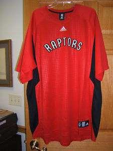 Toronto Raptors Adidas short sleeve jersey embr 2X Tal