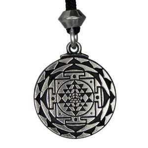 Great Wealth Hindu Goddess Pendant Tantric Yoga Hindi Jewelry: Jewelry