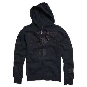 Fox Racing Black Steel Faith Zip Hoody