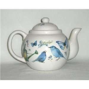 Marjolein Bastin Teapot   1995 Blue Skies
