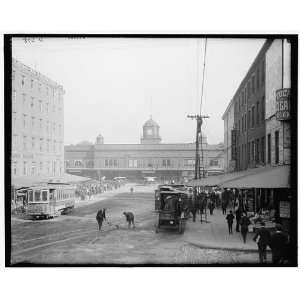 Pennsylvania Railroad ferries,Market Street,Philadelphia