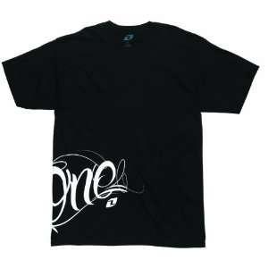 2012 ONE INDUSTRIES PARANOID TEE SHIRT BLACK XXL 2XL2XL