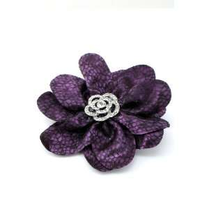 Bead Corsage Hair Clip Pin Brooch Clothing Hats Scarf Crystal Jewelry