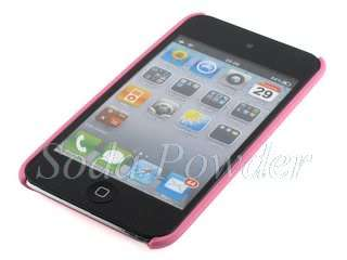 Hard Back Cover Case for Apple iPod Touch 4 (Pink)