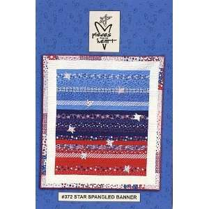 Star Spangled Banner Quilt Pattern By The Each: Arts, Crafts & Sewing