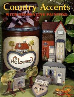 Tole Painting Pattern Book~COUNTRY ACCENTS~Jackson