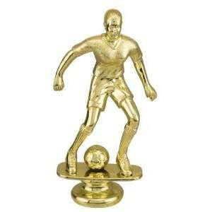 Gold 6 Female Soccer Trophy Figure Trophy  Sports