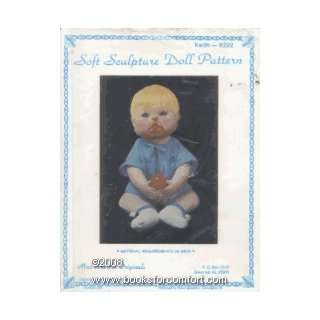 Soft Sculpture Doll Pattern, Keith   K222 Martha Holcombe