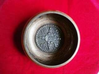 Tibetan Buddhist Singing Bowl Collectible