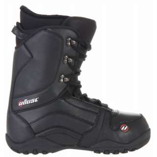 House Transition Mens Snowboard Boots Black