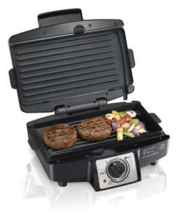 New Hamilton Beach Easy Clean Indoor Electric Grill   110 Sq. Inches
